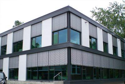 Leichtmetallbau, Fassaden